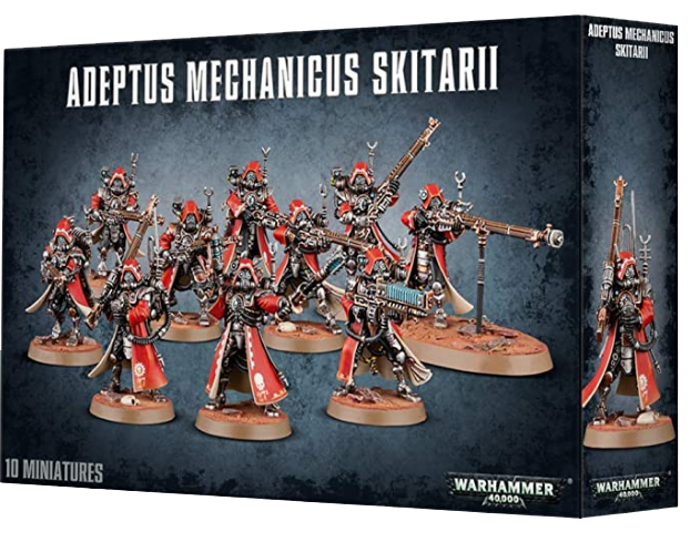 ADEPTUS MECHANICUS SKITARII RANGERS OR VANGUARD