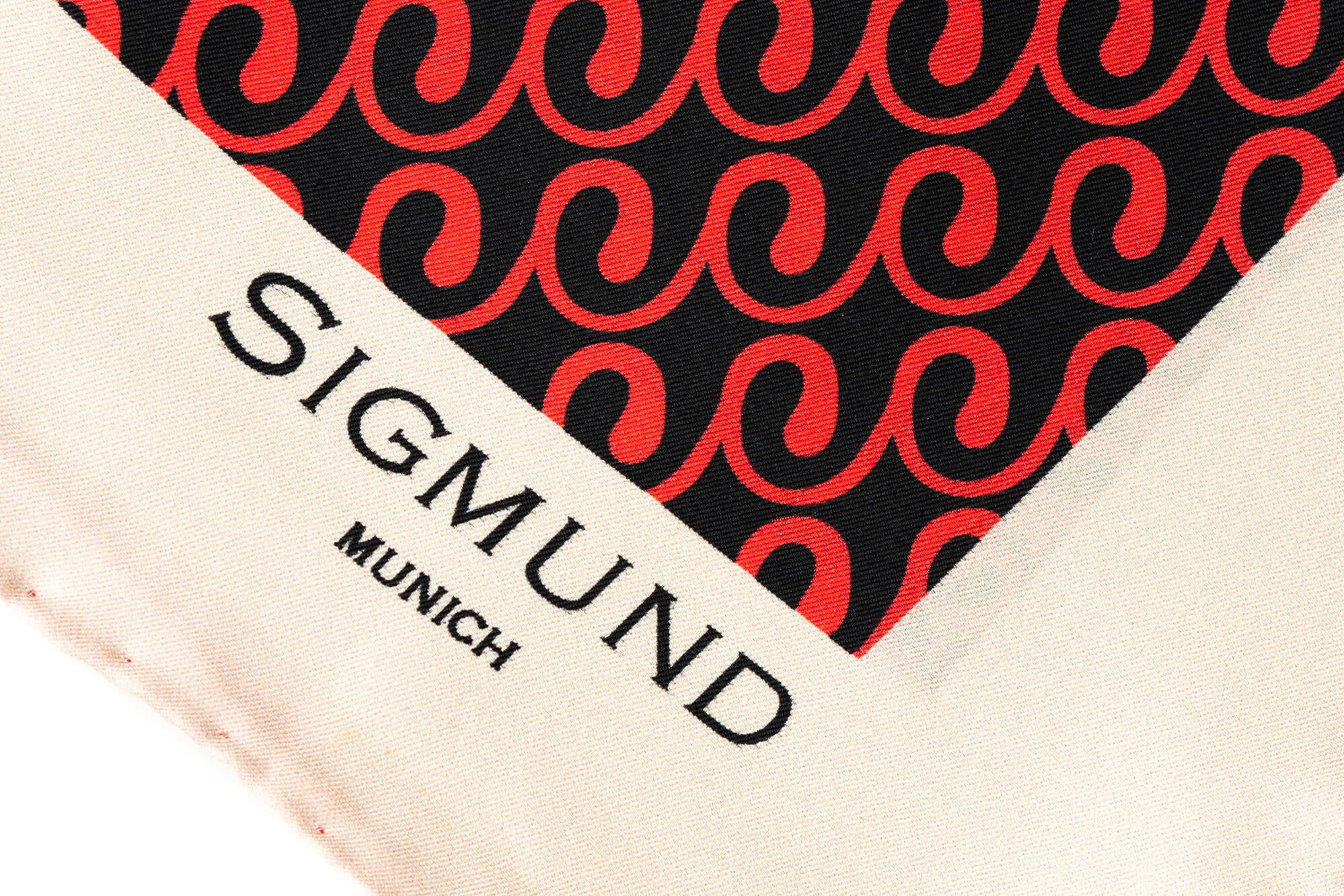 Einstecktuch EDITION SIGMUND in rot