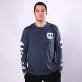 L/S Shield Sueded Tee