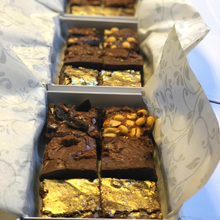 Load image into Gallery viewer, Luxury Brownie Box of 6 (Choose 3 flavours)