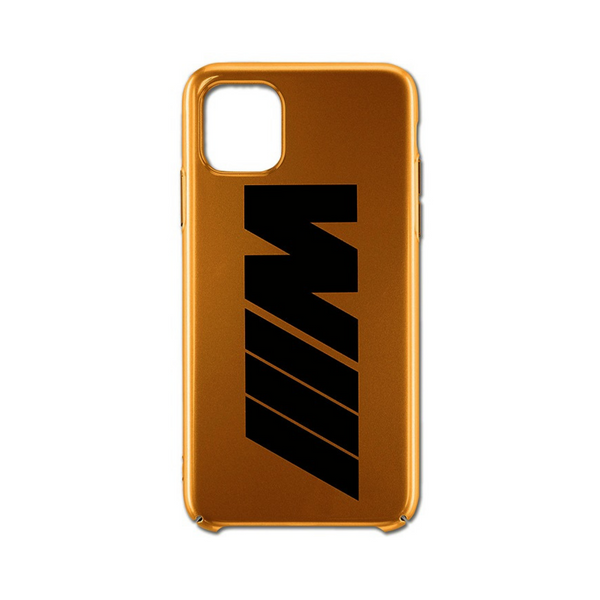 BMW M Handyhülle iPhone 11 PRO gold