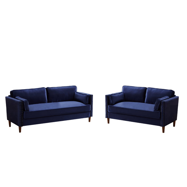 Fabric Small  Solid and  Durable Sofa under 100 inches
