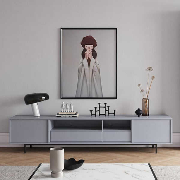 Light Luxury Living Room Audio-visual Cabinet