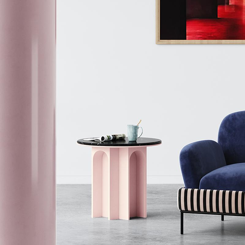 Small creative sofa coffee table
