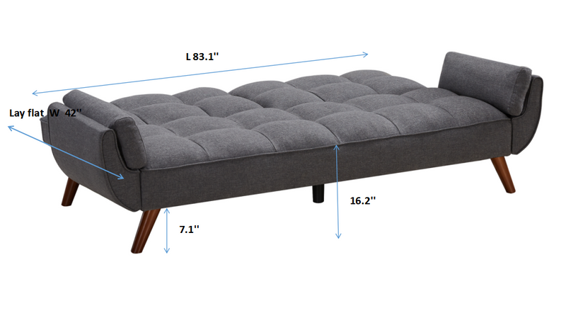Multifunctional Small Double sofa bed