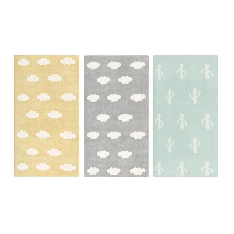 QM008 Yellow Cloud rug
