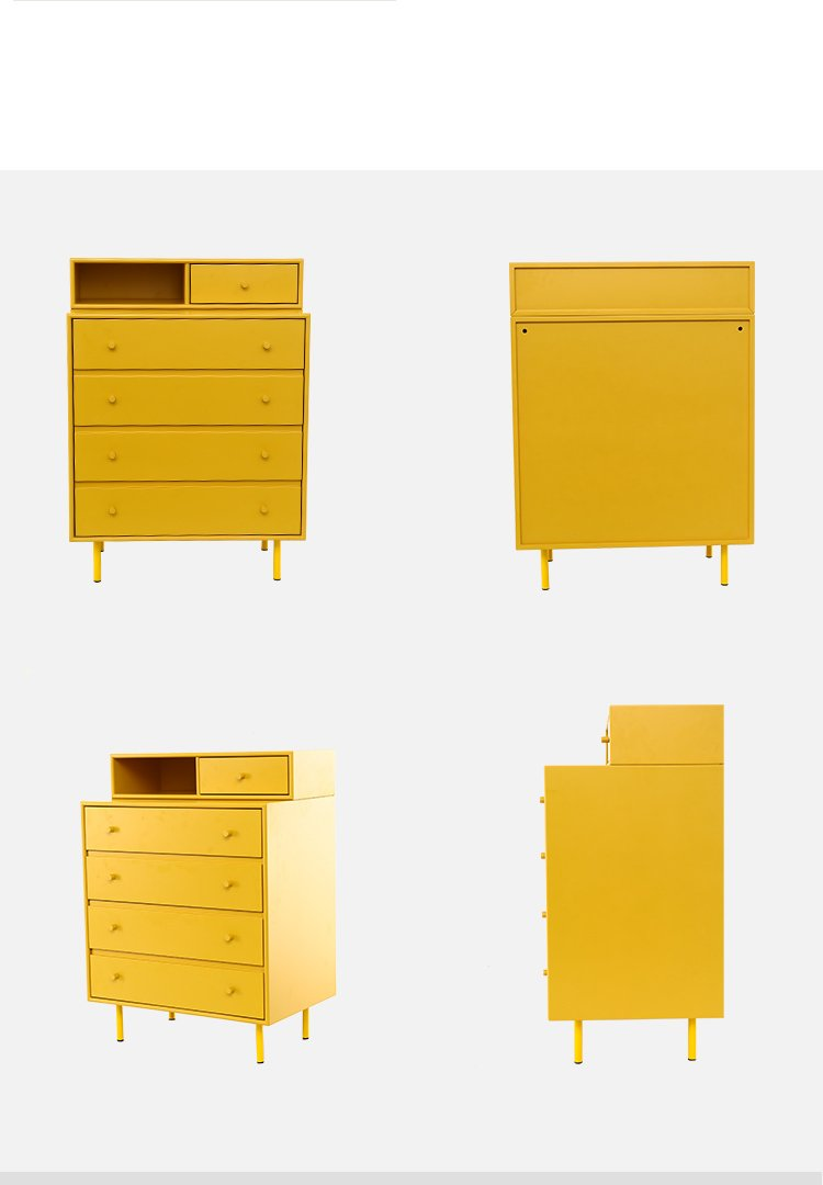 Solid Wood Chest Bedroom Drawers Storage