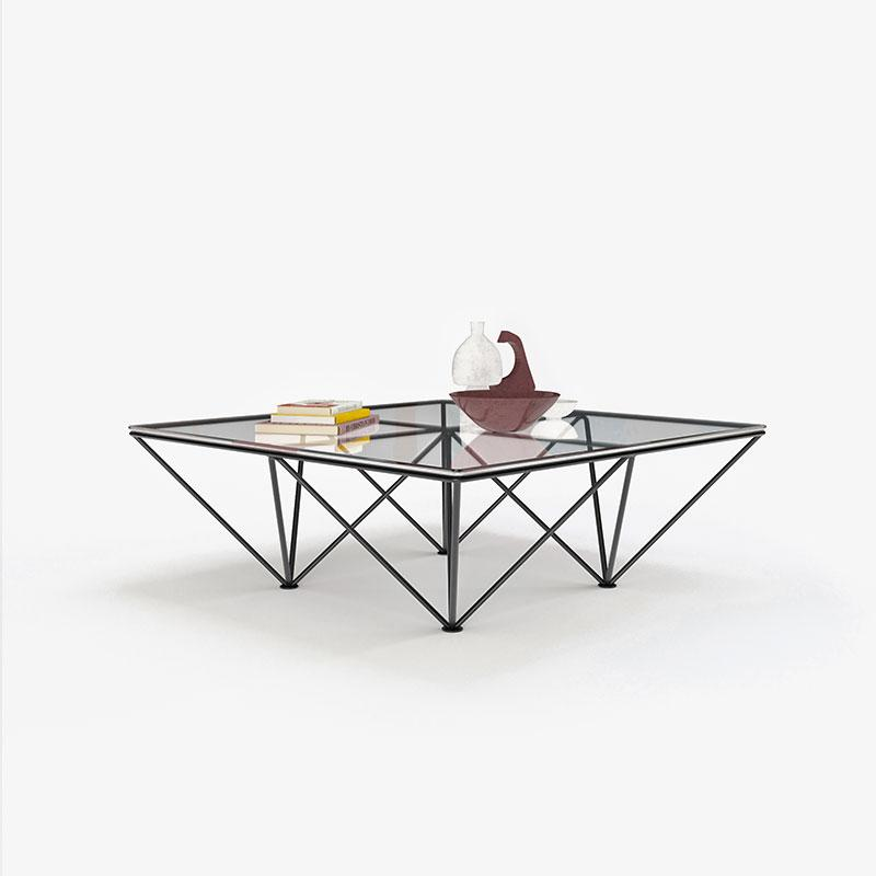 Tempered Glass Light Tea Table