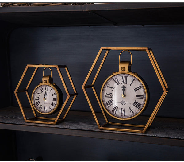 Retro Vintage Decor Clock