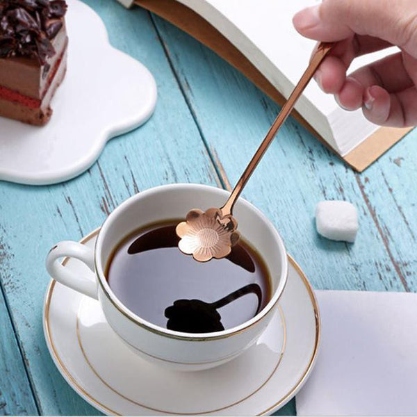 Daisy Coffee Spoon