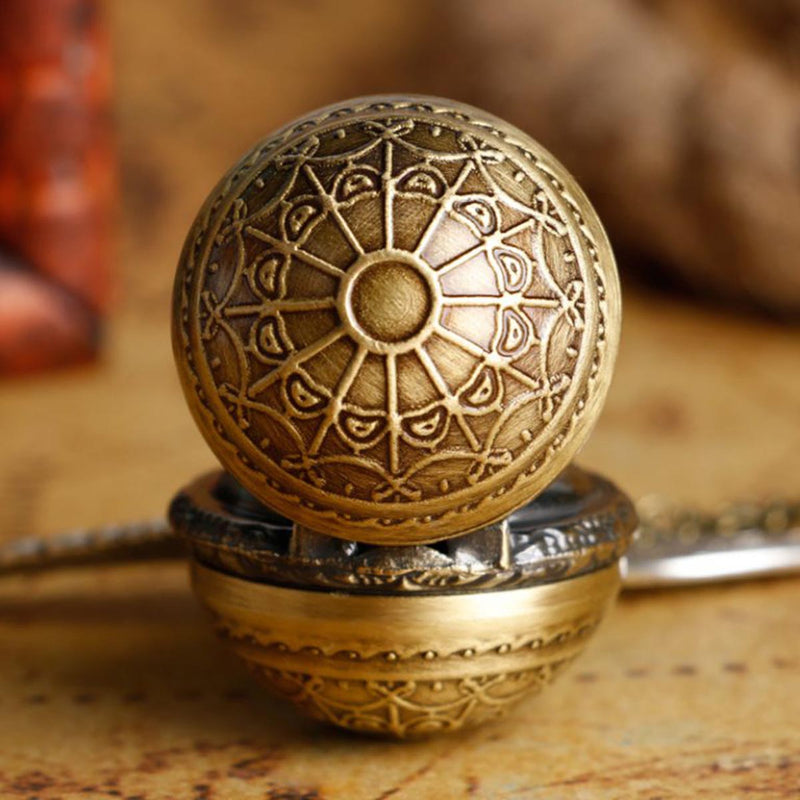 3D Golden Snitch Locket with Watch