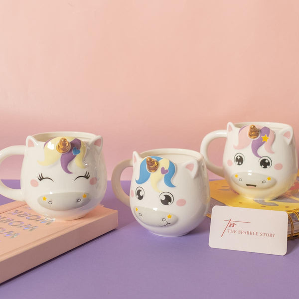 3D Unicorn Mug - Assorted