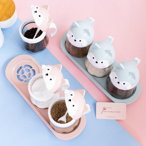 Animal Jars - Set of 3