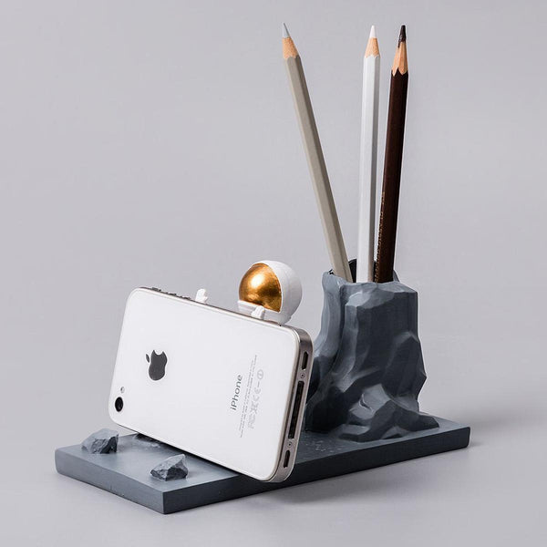 Astronaut Phone Holder and Pen Stand