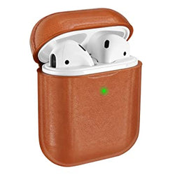 Faux Leather Airpod Case