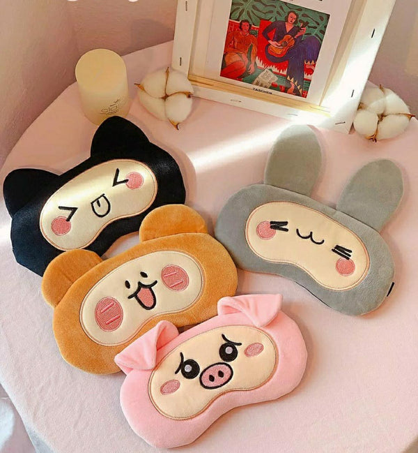Gel Eye Mask - Cute Animal