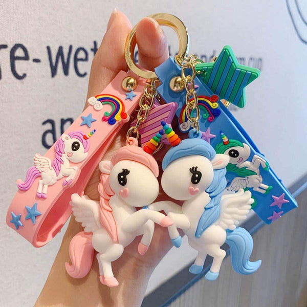 Keychain - Cute Unicorn