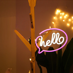 Neon LED Light - Hello