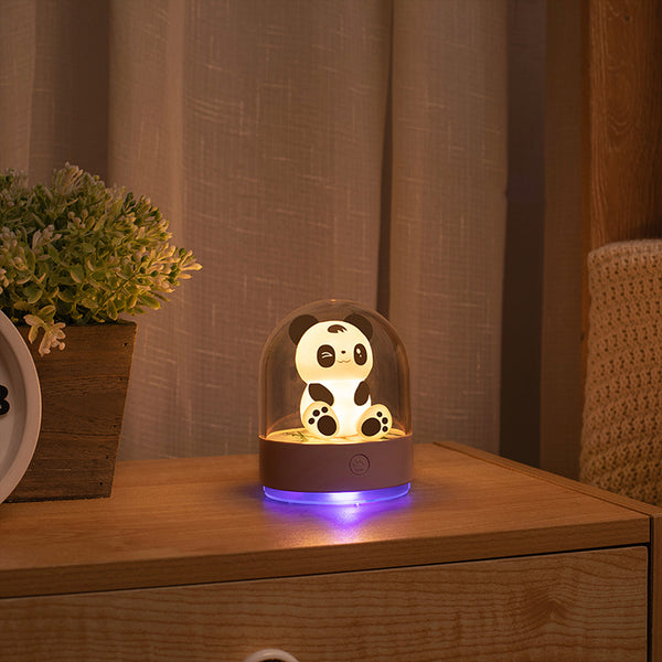 Aromatic UV Disinfectant Panda Night Lamp