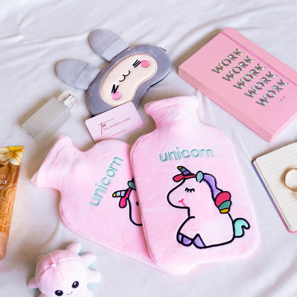 Premium Hot Water Bag - Unicorn - Large