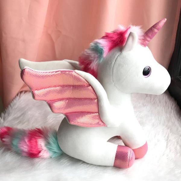 Plush Toy - Unicorn with Wings