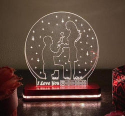 Spotify Plaque Light Lamp - I Love You