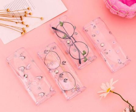 Transparent Sunglass Case - Assorted