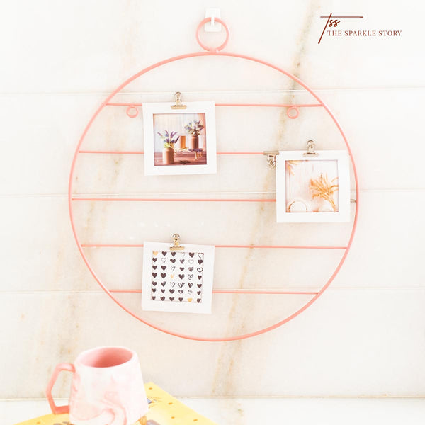 Wall Photo Rack - Circle