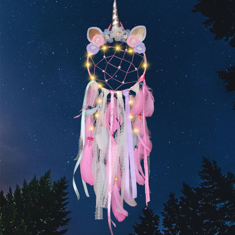 LED Dreamcatcher - Pretty Unicorn