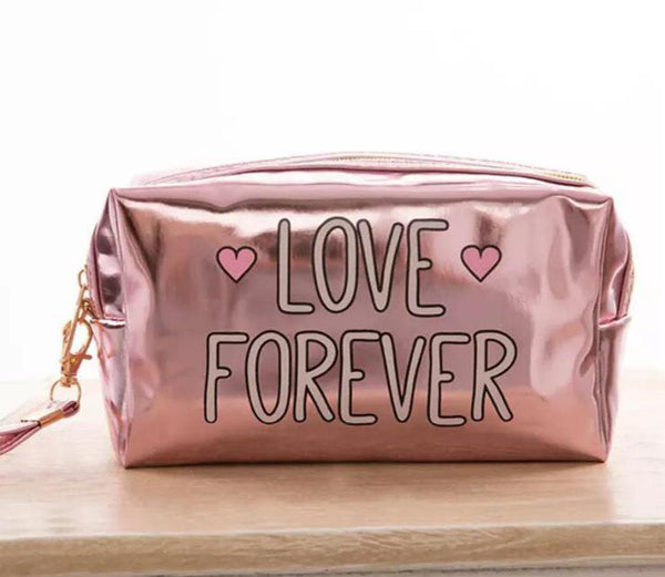 Metallic Pouch - Love Forever