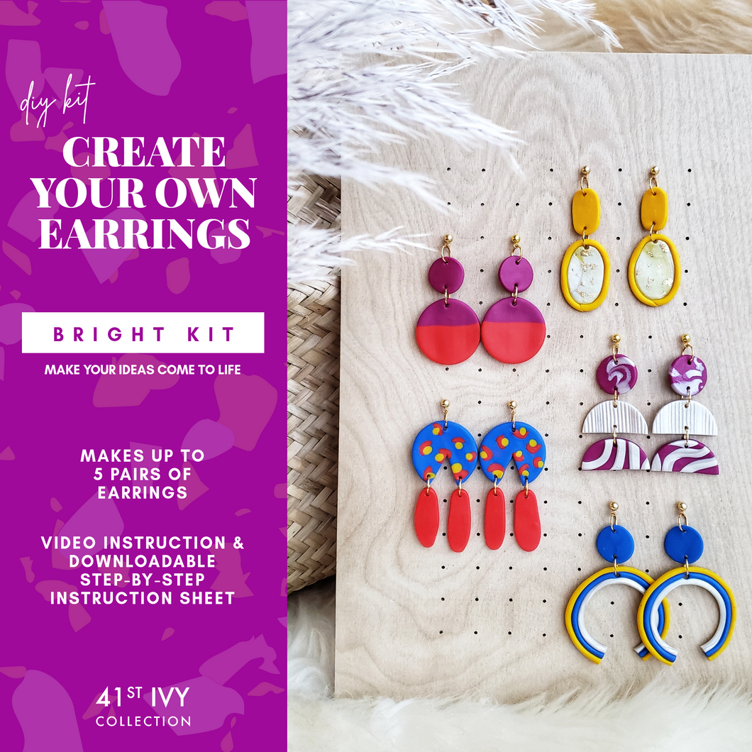 DIY Earring Kit: Bright