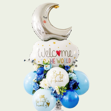 Load image into Gallery viewer, Balloon Bouquet for Baby Boy - Wanderclose