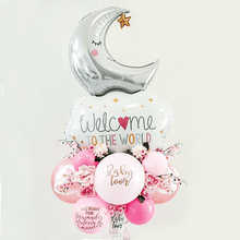 Load image into Gallery viewer, Balloon Bouquet for Baby Girl - Wanderclose