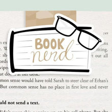 Load image into Gallery viewer, Booknerd Magnetic Bookmark