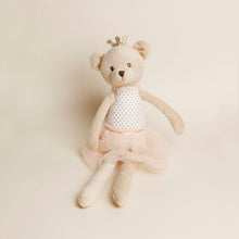 Load image into Gallery viewer, Bear Ballerina Plushie