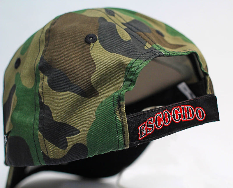 GORRA 4FANS ESCOGIDO CAMO RELAXED FIT