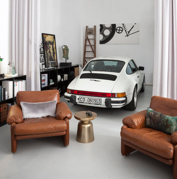 911 Living Room print by Tommaso Spinzi