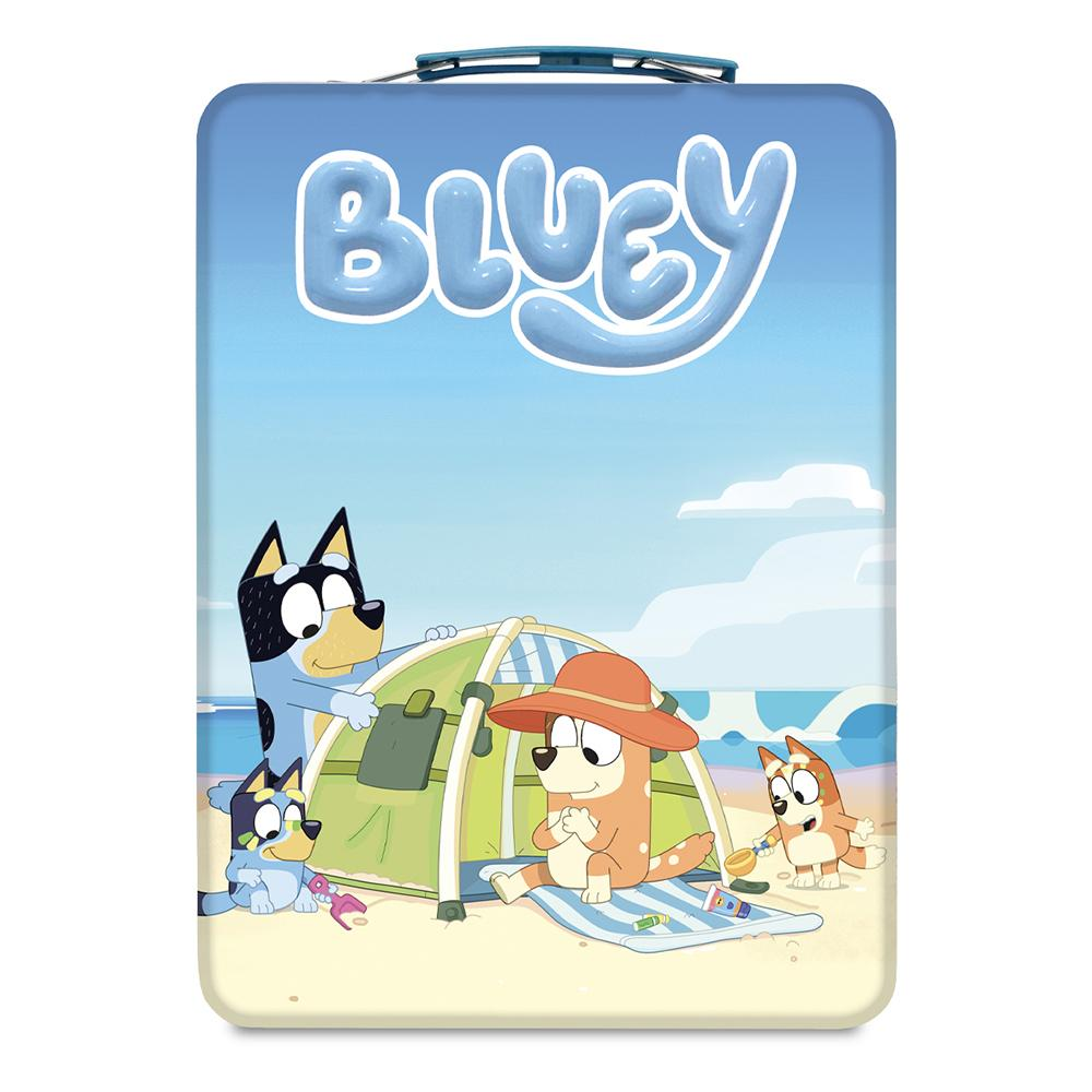 Bluey Travel Tin Colour Your Own Tin www.giftplayground.com.au