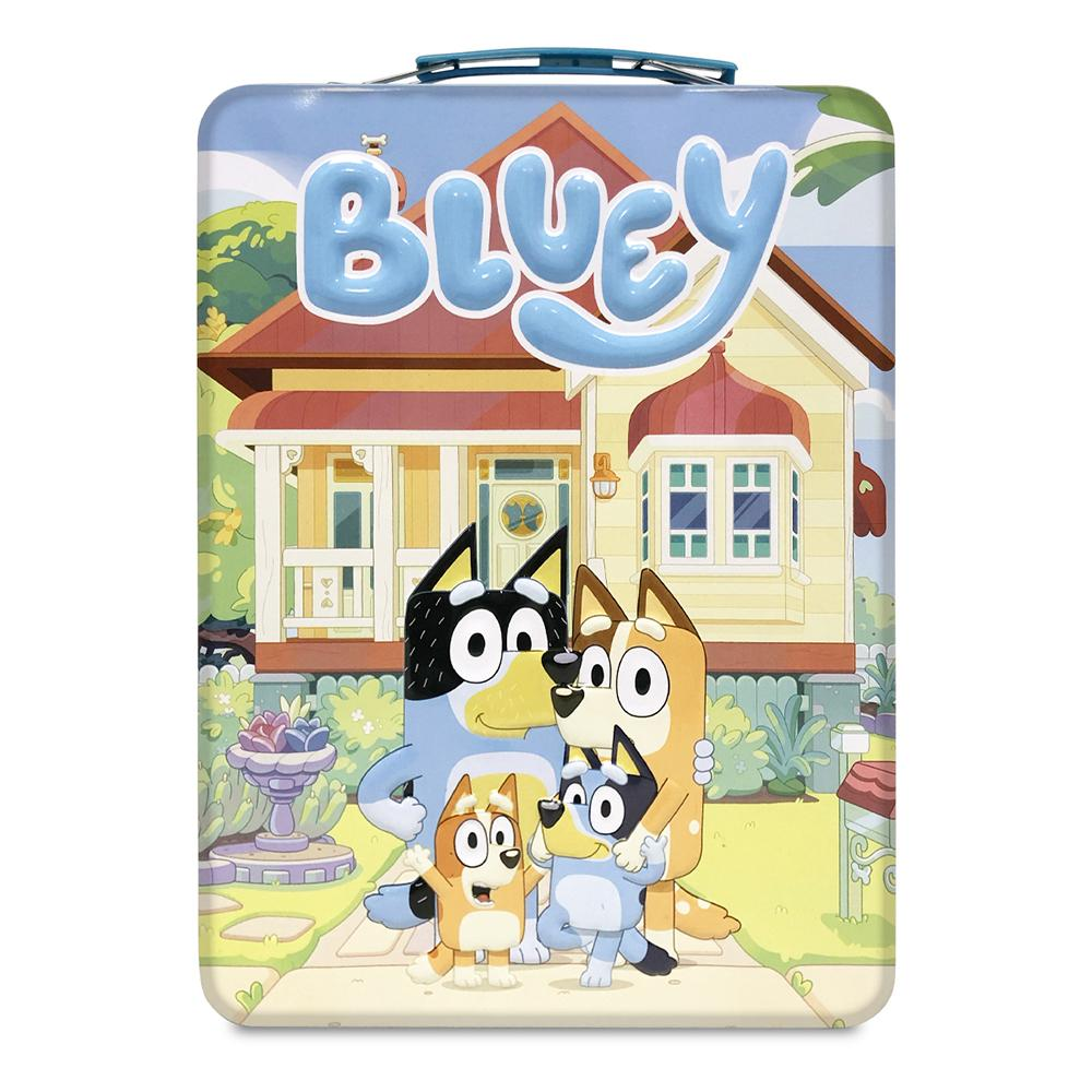 Bluey Travel Tin Water Art Activity Set Tin www.giftplayground.com.au