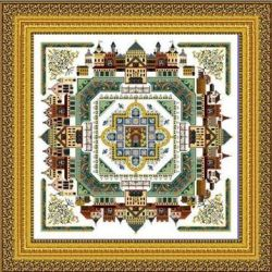 CHAT047<BR>The Medieval Town Mandala