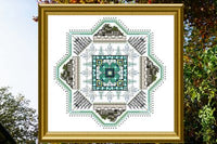 CHAT148<BR>Filigree Mandala 1 - Winter