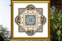 CHAT149<BR>Filigree Mandala 2 - Autumn