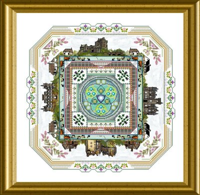 CHAT158<BR>The Scotland Mandala