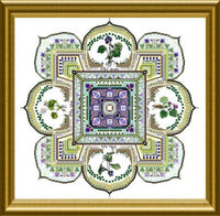 CHAT168<BR>The Violet Patch Mandala