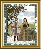 CHAT172b<BR>The Scottish Lovers Tapestry B