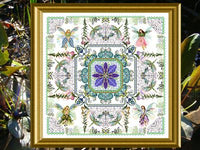 CHATA032<BR>The Fairy Flower Garden Mandala