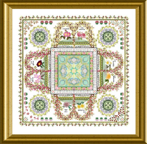 CHATA166<BR>The Rosarium Mandala
