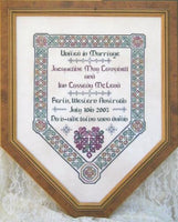 JM-008<BR>Celtic Wedding Sampler