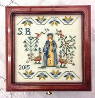 Lady Simona Sewing Box