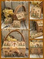The Flowers Cottage Sewing Basket
